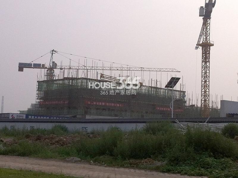 国润城施工进度图(2013年7月15日)