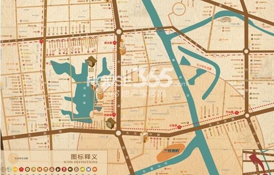 朗诗玲珑屿交通图