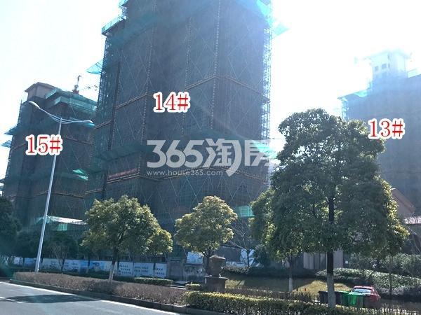长泰国际社区南B地块13-15#楼高层实景图(2018.3 摄)