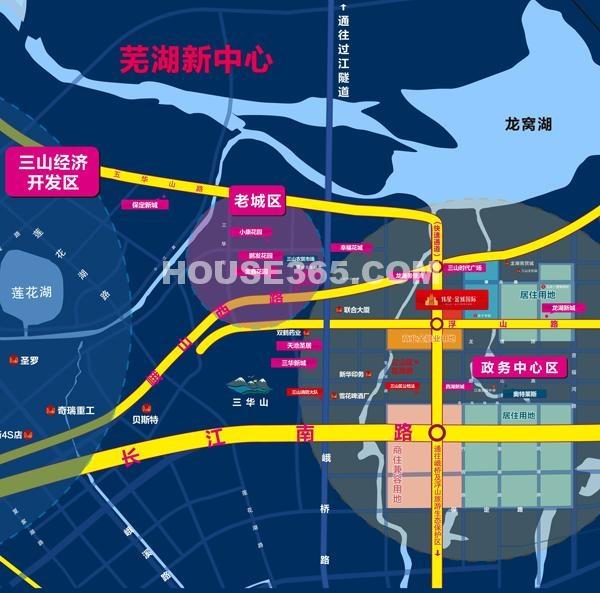 伟星金域国际交通图