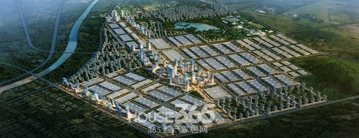 合肥华南城鸟瞰图