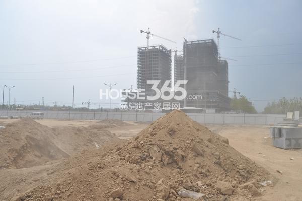 翠屏九溪诚园对面商业酒店项目在建(8.15)