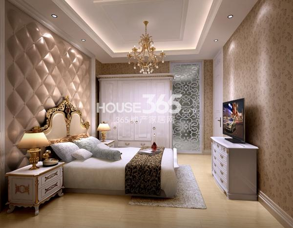 公寓样板房卧室