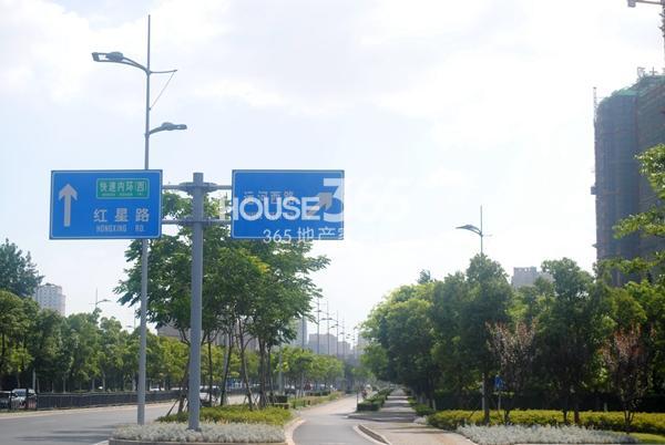 金桂尚苑交通图