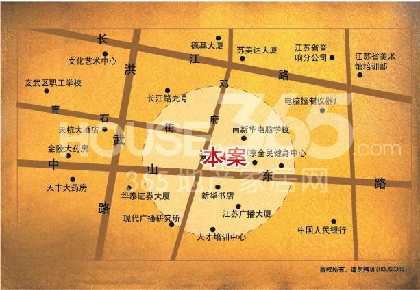 长江会交通图