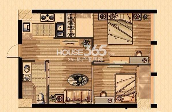 中栋国际C户型(3号楼酒店式公寓)