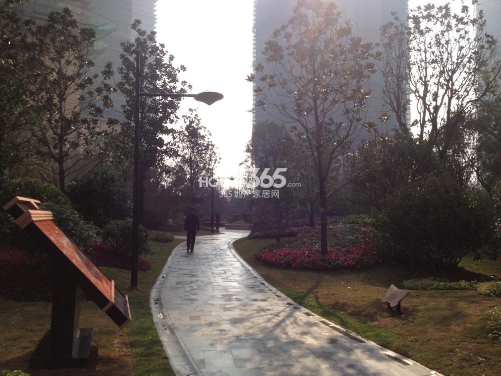 雅居乐滨江国际景观实景图(10.28)