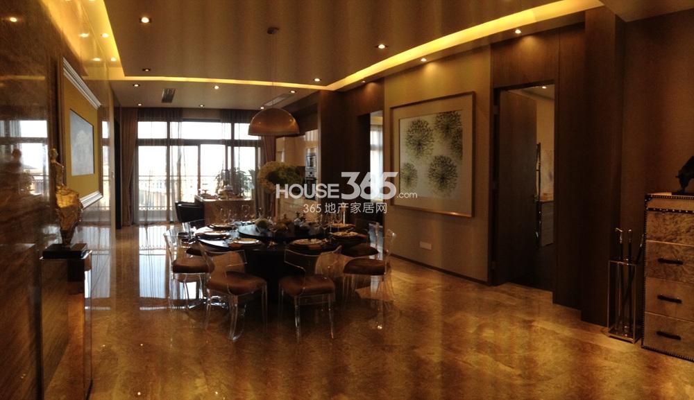 雅居乐滨江国际280㎡样板间——餐厅(10.29)