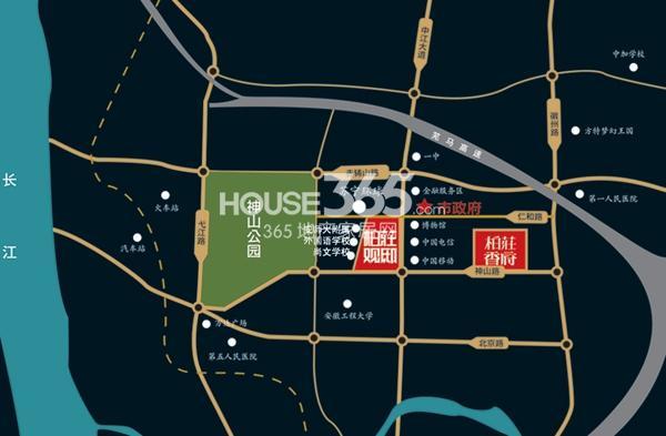 柏庄财富广场交通图