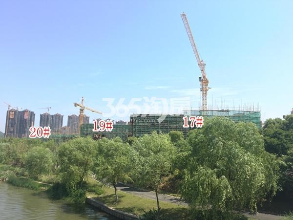 美的公园天下B地块洋房17#、19#、20#楼实景图(2018.6 摄)