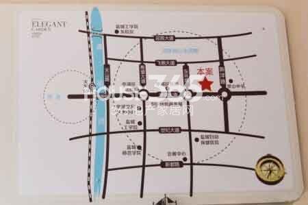 华建雅园交通图