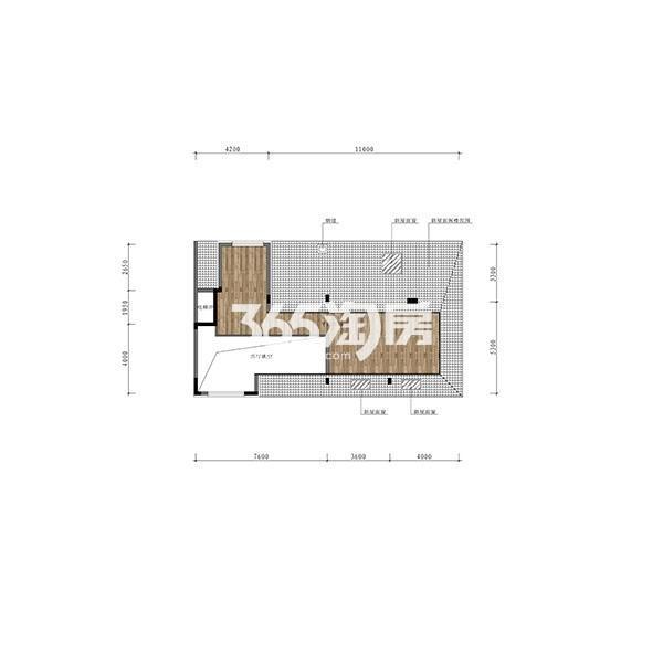 (1T2)141平三室大洋房边户顶层阁楼(全赠送)