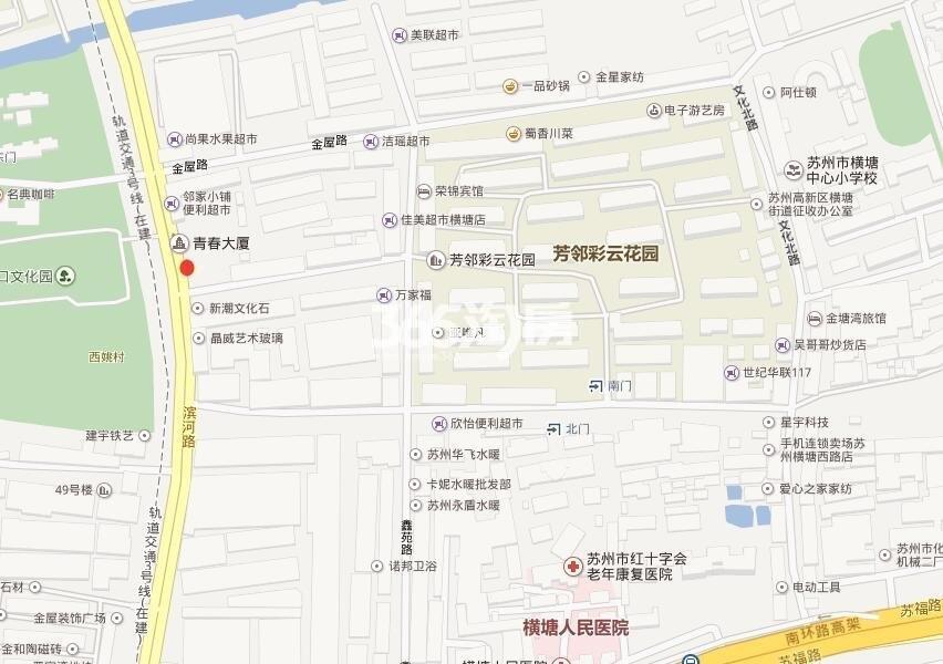 星悦湾名苑交通图