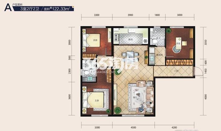 三室二厅122