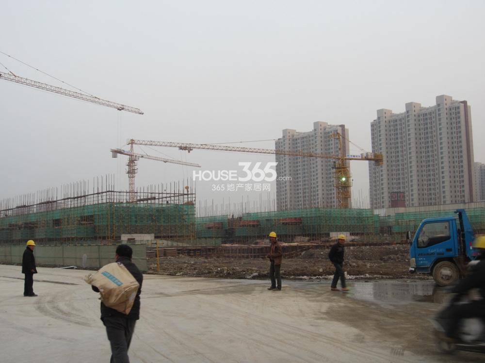 万科VC小镇项目施工现场2014-12-23