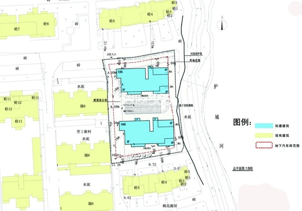 天江姜家园项目交通图