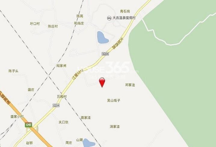 尚峰尚水交通图