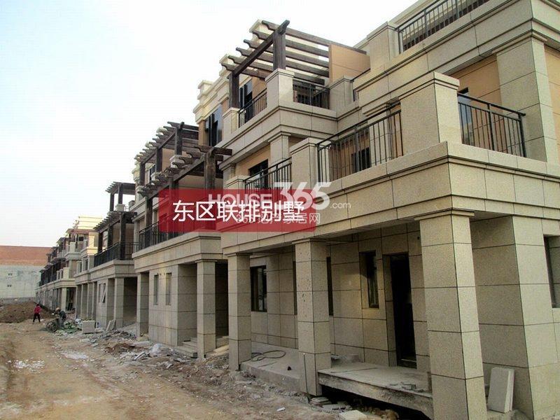 富力橙墅东区联排别墅实景图(2013.01.06)