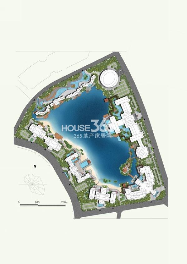 无锡万达文化旅游城酒店群平面图