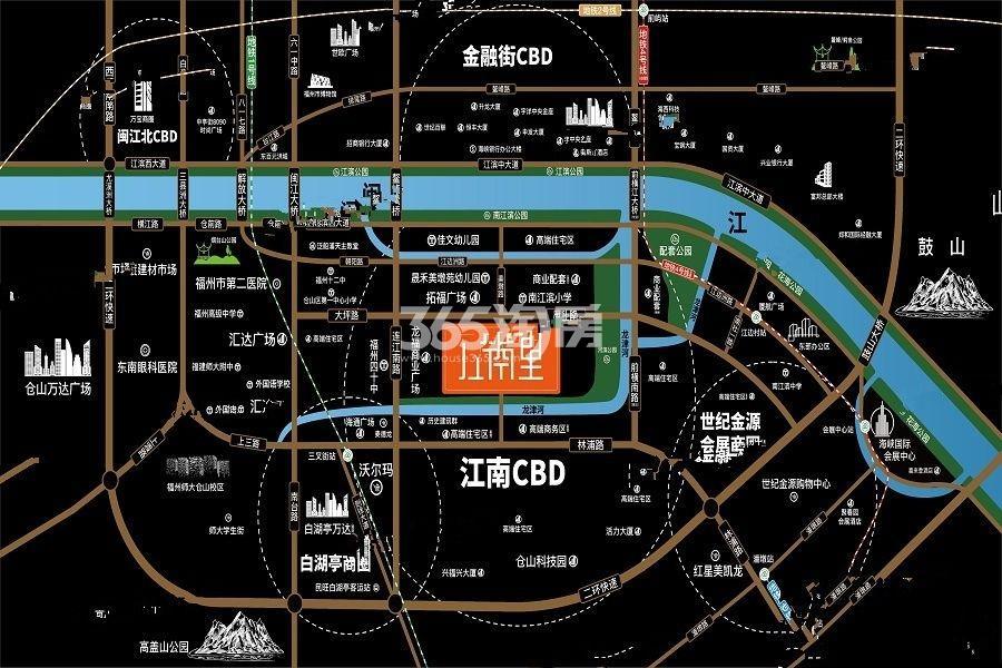 凯佳江南里交通图
