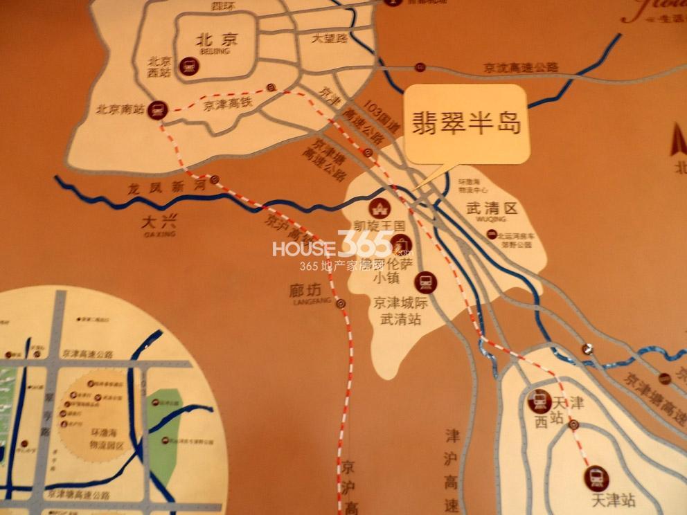 翡翠半岛交通图