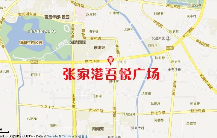 张家港吾悦广场交通图