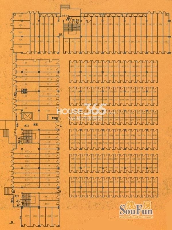 泰州名流国际家居博览中心户型图
