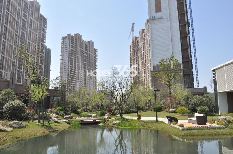 2014年3月底越秀星汇城项目实景