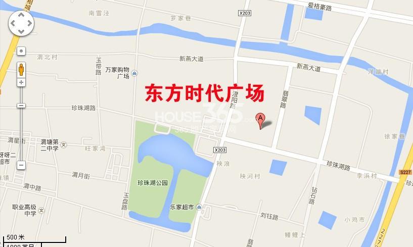 东方时代广场交通图