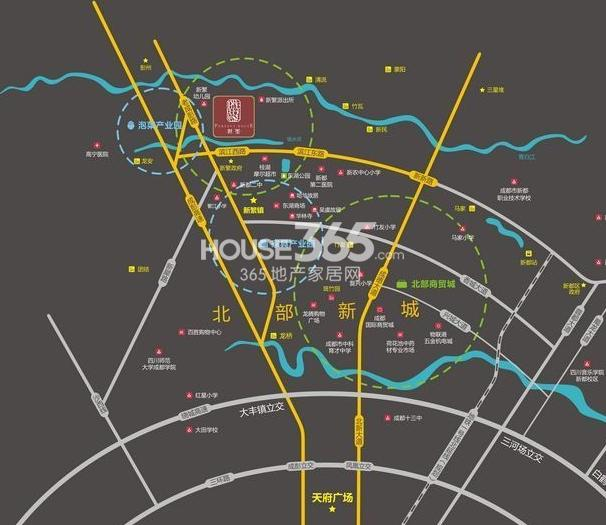 世玺交通图