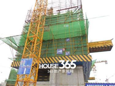 万科森林公园C3-2#楼4月工程进度(2014.04)