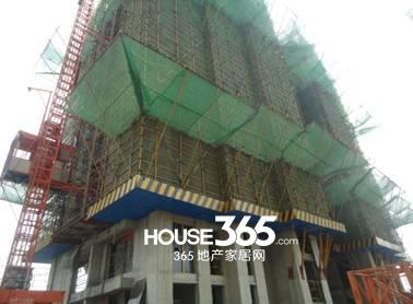 万科森林公园C2-12#楼4月工程进度(2014.04)