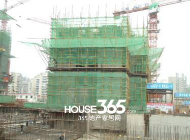 万科森林公园C2-16#楼4月工程进度(2014.04)