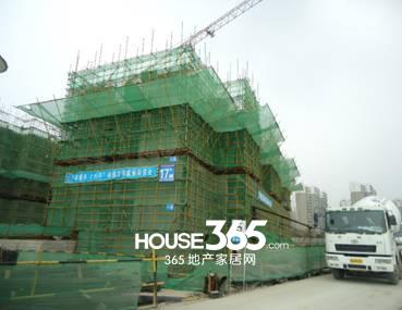 万科森林公园C2-17#楼4月工程进度(2014.04)