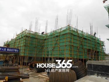 万科森林公园C3-1#楼4月工程进度(2014.04)