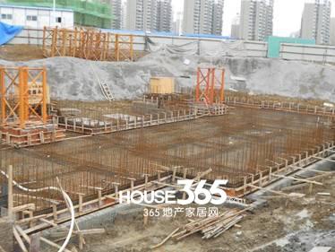 万科森林公园C3-4#楼4月工程进度(2014.04)