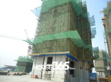 万科森林公园C2-11#楼4月工程进度(2014.04)
