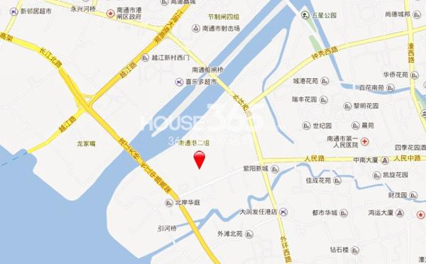 江景国际交通图