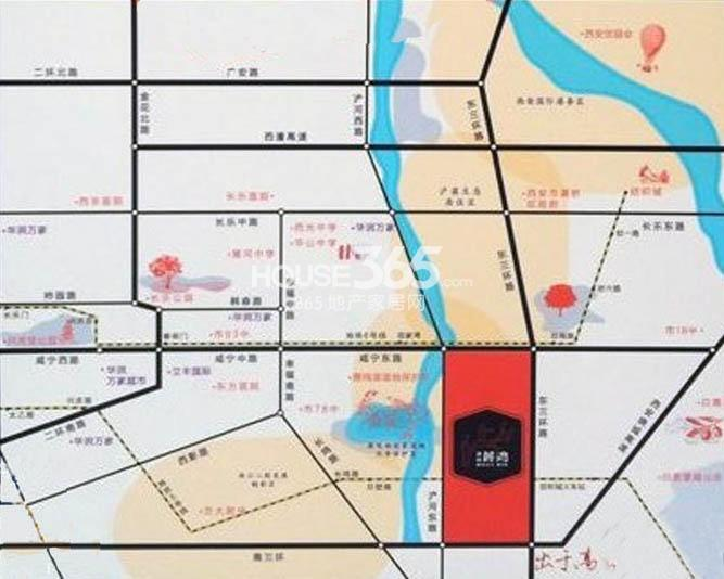 高科麓湾国际社区交通图