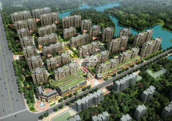 新华联梦想城住宅鸟瞰图