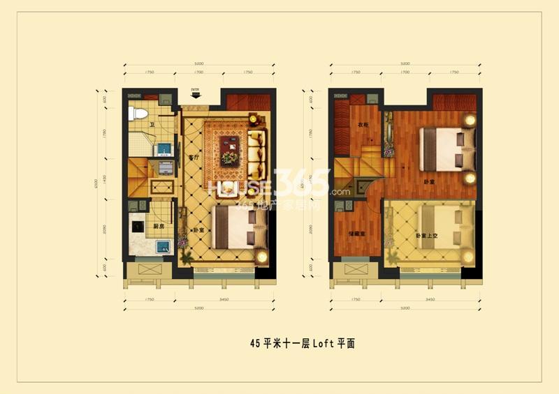 中国铁建国际公馆户型图