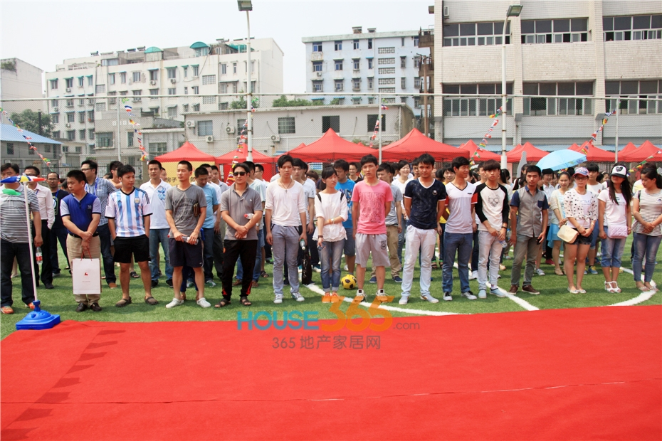 万科传奇杯足球赛开幕 运动员集合