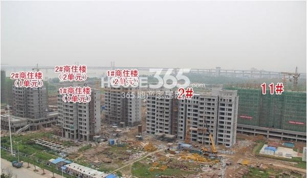 华强城美加印象工程进度(拍摄于6月)