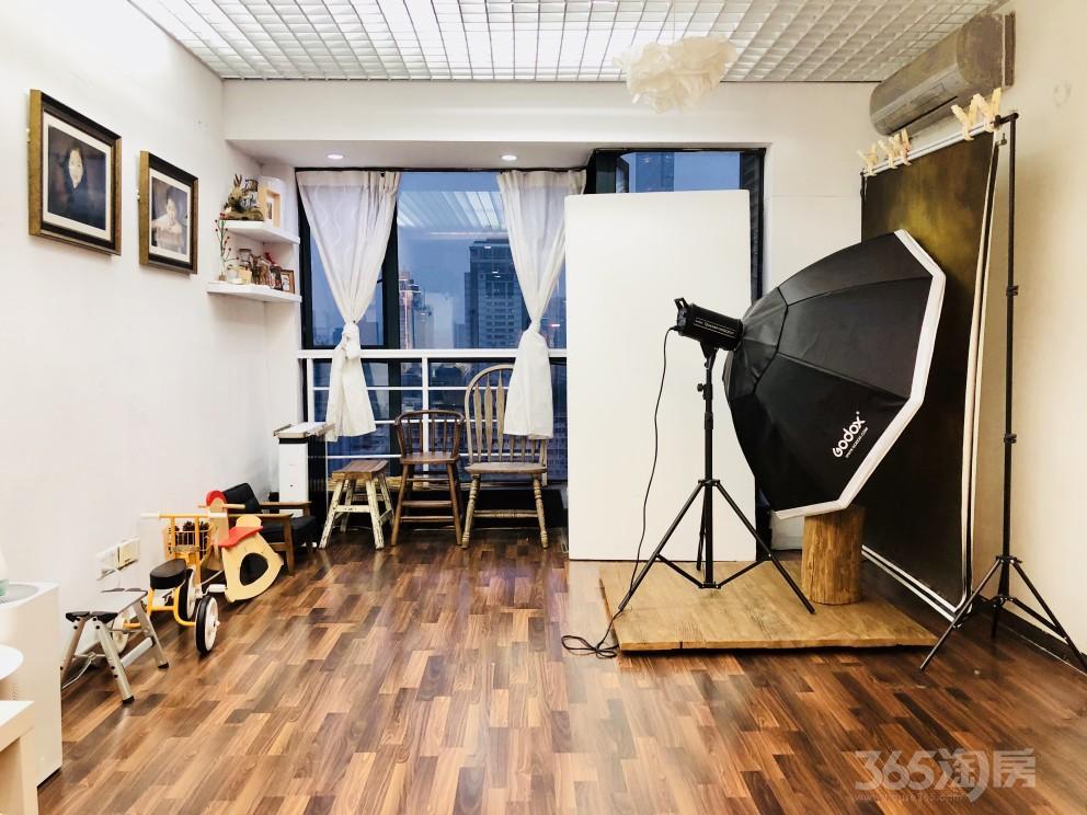 君临国际1室1厅1卫51.45平米2005年产权房精装