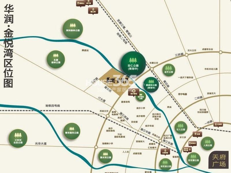 华润金悦湾交通图