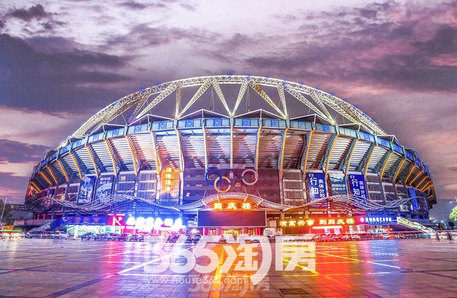 高清 寻找芜湖建筑之美-芜湖奥林匹克体育中心