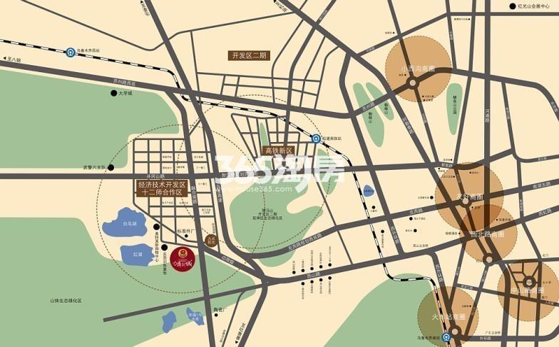 力鼎新城交通图