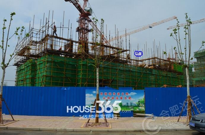 万科森林公园8月工程进度(2014.08.06)