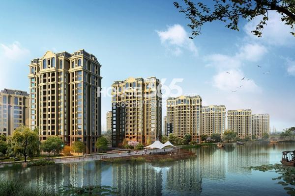 芜湖新华联梦想城法式住宅沿河效果图