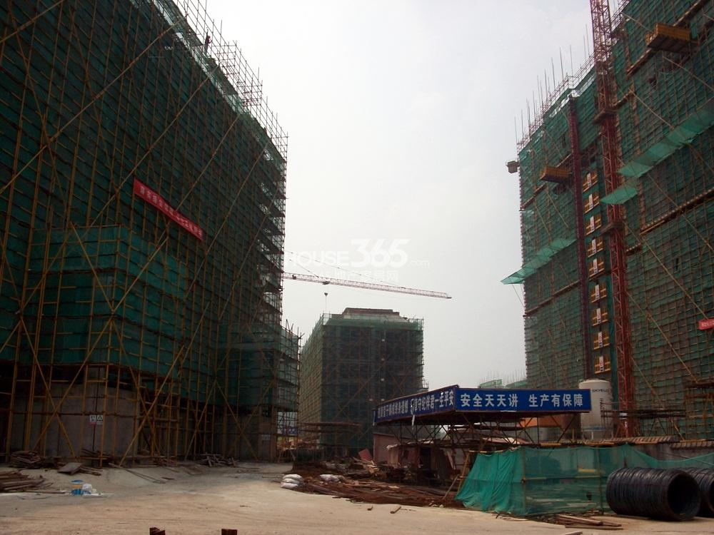 银亿东城十一街区小高层实景图(8.5)